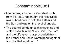 Council Of Constantinople 553 The Ecumenical Councils Ppt