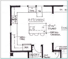 standard kitchen island size marvelous kitchen island best size torahenfamilia the models