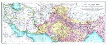 Map Of Northern India by Indian Subcontinent After 1900 Mcadd Pahar