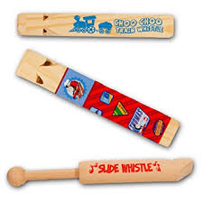 wooden party favors the whistle party favors pack 3