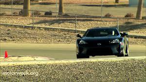 lexus lfa overpriced road test 2012 lexus lfa youtube