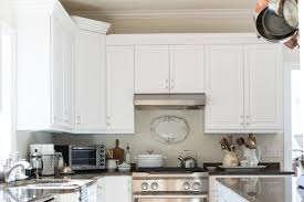 decorating above the kitchen cabinets miss mustard seed