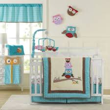 aqua crib bedding from buy buy baby