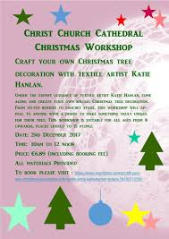 christmas workshops for children christ church cathedral dublin