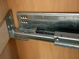 kitchen cabinet drawer guides kitchen cabinet drawer slide parts within slides decor 28
