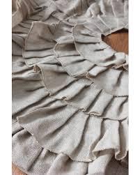 amazing deal sale burlap tree skirt ruffled burlap fabric