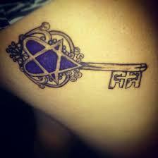 heartagram key tattoo by stefaniaball1994 on deviantart