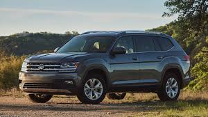 volkswagen atlas seating 2018 vw atlas v6 se tech an encouraging sign of american design