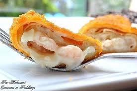 plats faciles cuisiner idée de recette simple et facile crêpes panées aux crevettes et