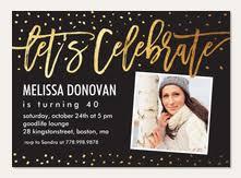 birthday invitations simply to impress