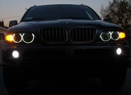 Bmw X5 Update - pictures upgrade of fog lights and angel eyes xoutpost com
