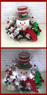 Christmas Table Decoration Ideas Make Up by Snowman Click Pic For 18 Diy Christmas Table Centerpiece Ideas