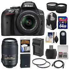 nikon d5300 black friday nikon d5300 digital slr camera u0026 18 55mm vr ii lens black with