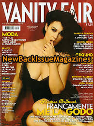 Vanity Fair Italiano Italian Vanity Fair 9 05 Monica Bellucci Macpherson New Ebay