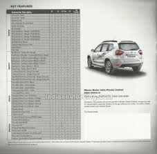 nissan accessories for sale nissan terrano features 3rd row seats as optional including other