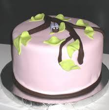 photo gumpaste baby shower cake image