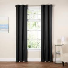 Black And White Window Curtains Black White Curtains Drapes You Ll Wayfair