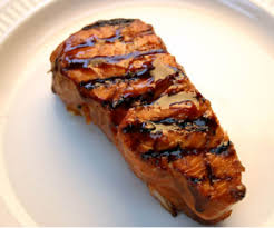 recipe grilled salmon with hoisin sauce simplefoodie com