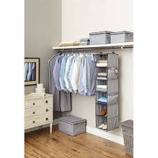 better homes and gardens 6 shelf organizer grey walmart com