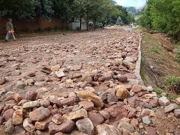 Table Mesa Brown Rock by The Colorado Storm And Flood Of 2013 Boulder Critical Zone