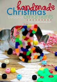 handmade beaded christmas ornaments kids can make beaded