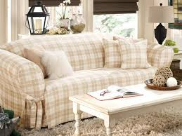 Shabby Chic Sofa Slipcover by Living Room Couch Covers Bath And Beyond Slipcovers For