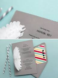Paper For Wedding Invitations 25 Super Creative Invitations Brit Co