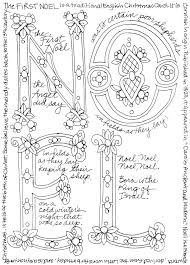 christmas holiday coloring free print dover