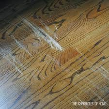 Floor Scratch Repair How To Repair Scratched Hardwood Floor My Happy Floor