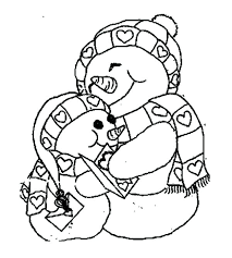 large snowman coloring page big snowman coloring page and large snowman coloring page plus