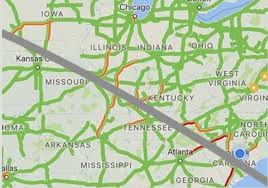 Traffic Map Chicago by We Drove 6 Hours For The Eclipse It Took Us More Than 9 Hours To