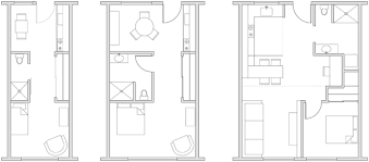 350 sq ft floor plans joseph sandy small apartments 250 350 and 500 square feet