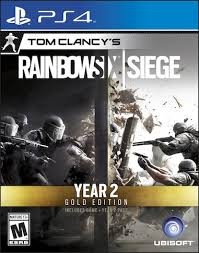 siege sony sony ps4 tom clancy s rainbow six siege year 2 gold edition toys