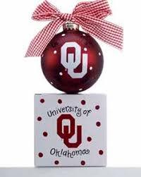 ou sooners ornament sooner gift guide ornament