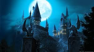 Hogwarts by Hogwarts Castle Wallpapers Wallpaper Cave
