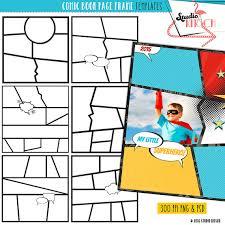 diy comic book clip art templates comic strip superhero