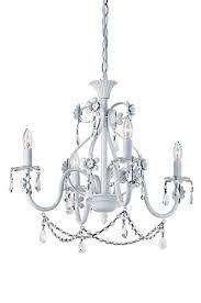 Chandelier Light For Girls Room Dierdre 4 Light 20 Antique White Chandelier At Menards Salon