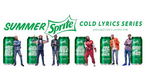 cold lyrics by rappers here introducing the summer sprite