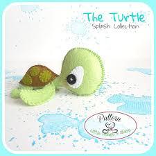 Turtle Nursery Decor The Turtle Pdf Pattern Sea Animal Diy Nursery