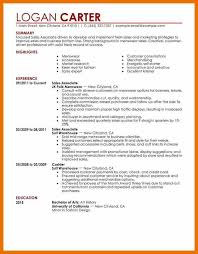 sample of sales associate resume retail manager combination