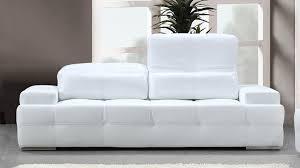 canapé cuir blanc design canapé cuir blanc design intérieur déco