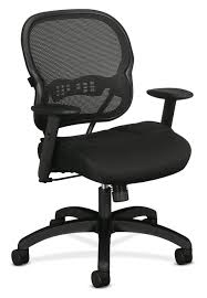 Hon Adjustable Height Desk by Basyx By Hon Vl712 Mid Back Mesh Task Chair Black By Office Depot