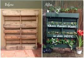 this pallet project is even better than mason jars hometalk