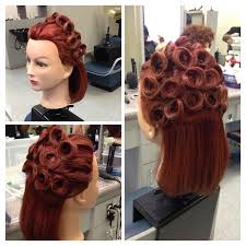 hairstyles pin curls images of updo hairstyles with pin curl google search updos