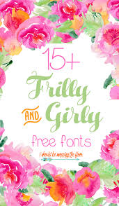i should be mopping the floor 15 free frilly and girly fonts