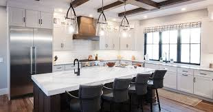 how to paint kitchen cabinets rustic white kitchen cabinets with gray stained island showplace