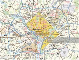 Map Washington Dc Washington Dc Area Map Vector Art Getty Images
