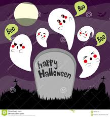 halloween ghosts cemetery bats royalty free stock photos image