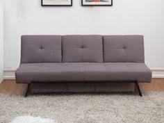 3er sofa grau 3er sofa herstal schlafsofa gästebett bettsofa textil