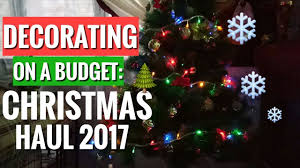 decorating on a bugdet christmas tree haul 2017 philippines